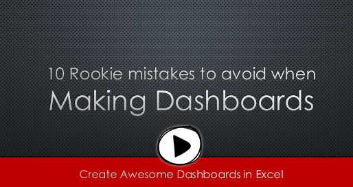 10 Rookie mistakes to avoid when making dashboards - watch the video