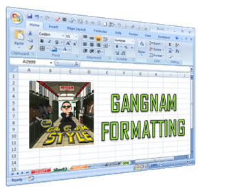 Excel Formatting Tips – Gangnam Style [open thread]