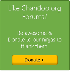 Donate to Chandoo.org ninjas & support them