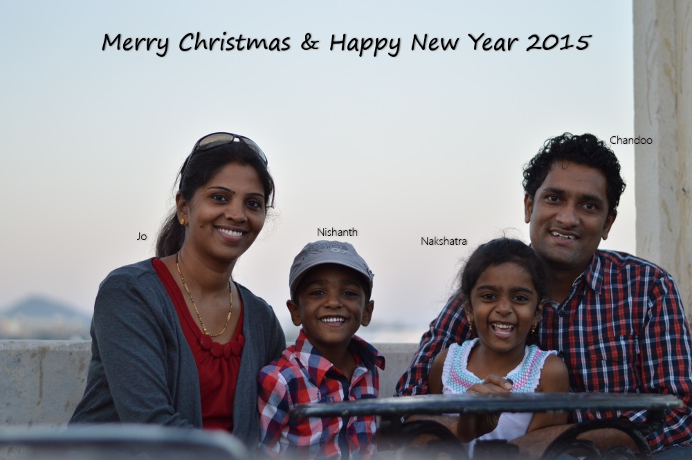 Merry Christmas & Happy New Year 2015 - from Chandoo.org