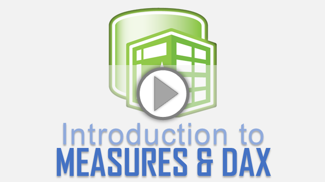 Introduction to DAX measures & formulas for Excel Power Pivot