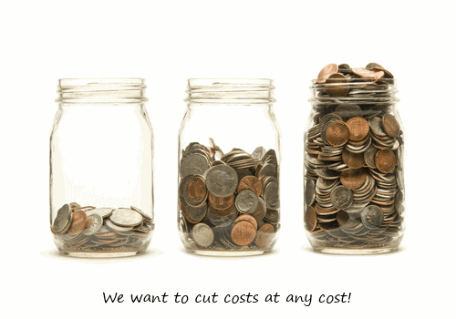 Reason 3: Pressure on costs
