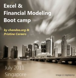 Register for our Excel & Financial Modeling Bootcamp in Singapore [Details inside]