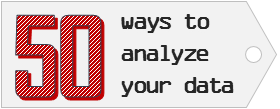 "Please help me design our new course – ""50 ways to analyze your data"""