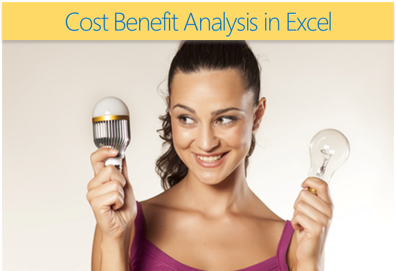 How to do cost benefit analysis in Excel - a case study