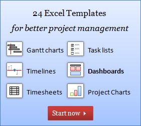 Excel Project Management FREE Templates Resources Guides - Easy project management template