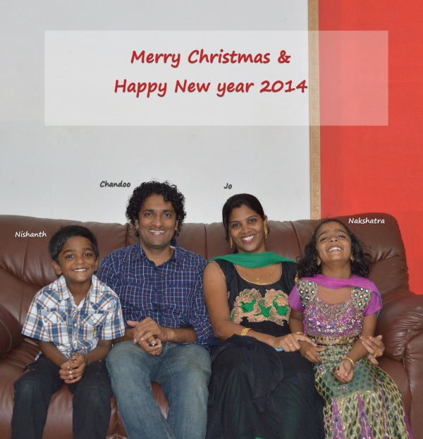 Merry Christmas & Happy New Year 2014 from Chandoo.org