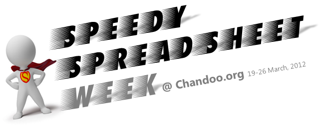 This week, Speed up your Spreadsheets – Your Action Required