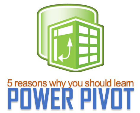 5 reasons why you should learn Power Pivot