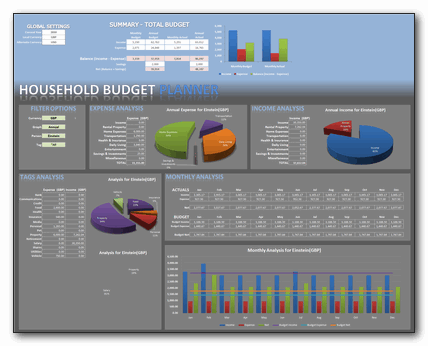 Home budget excel sheet free download monthlyeet personal expenses.